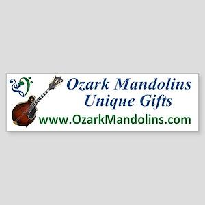 Ozark_Mandolins_CarMagnet Sticker (Bumper)