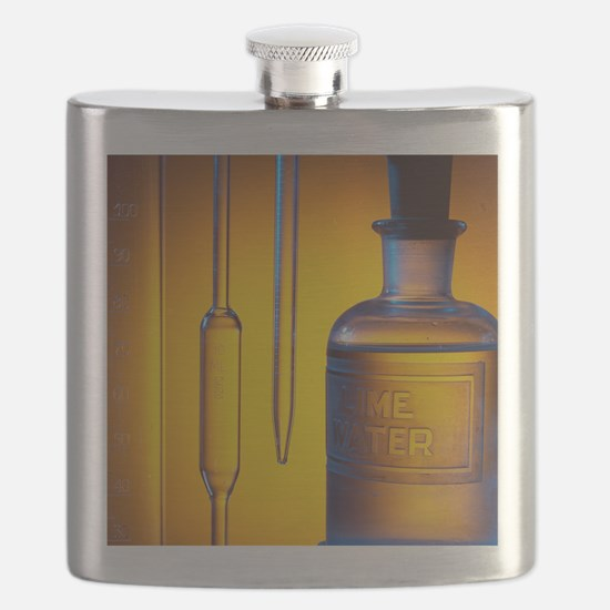 Etched laboratory glassware Flask