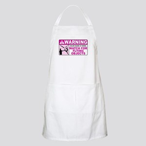 Flying Objects, Pink BBQ Apron