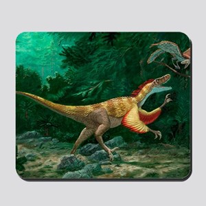 Feathered dinosaurs Mousepad