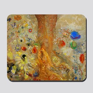 Odilon Redon Buddha In His Youth Mousepad