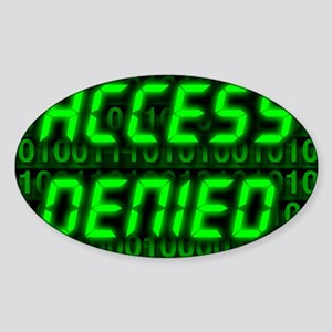 Electronic security Sticker (Oval)