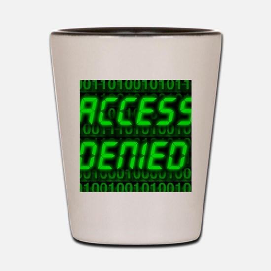 Electronic security Shot Glass