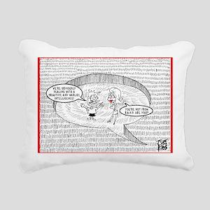 2111A-CROP-CIRCLE-FRONT Rectangular Canvas Pillow