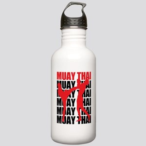 Muay Thai Stainless Water Bottle 1.0L