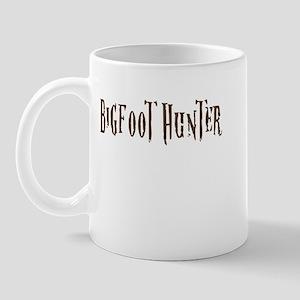bigfoothunter-white Mugs