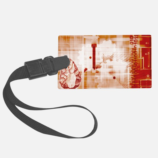 Evolution of technology Luggage Tag