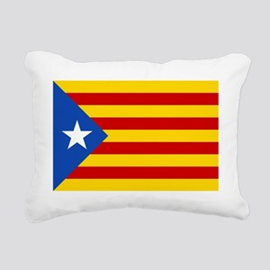 LEstelada Blava Catalan  Rectangular Canvas Pillow
