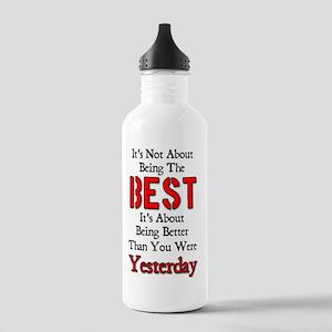best1_smaller Stainless Water Bottle 1.0L