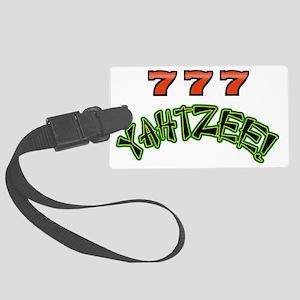 777 Yahtzee Large Luggage Tag