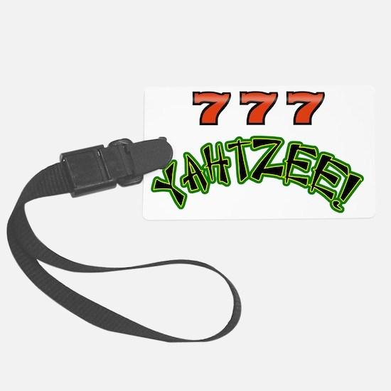 777 Yahtzee Luggage Tag