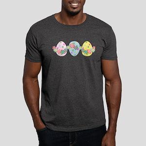 Easter Eggs 'N Garland Dark T-Shirt