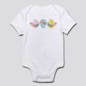 Easter Eggs 'N Garland Infant Bodysuit