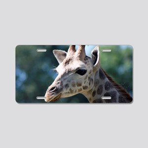 Giraffe Galaxy Note Case 2 Aluminum License Plate