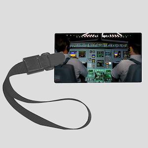 Flight simulator Large Luggage Tag
