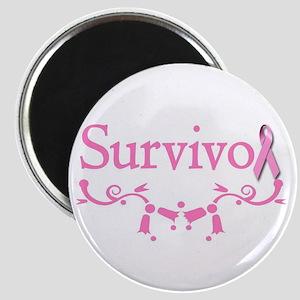 Survivor (Breast Cancer) Magnet