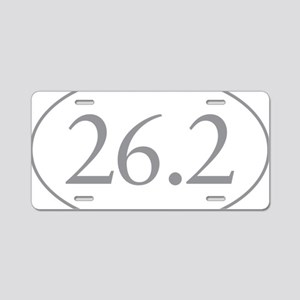 26.2 Marathon Distance Aluminum License Plate