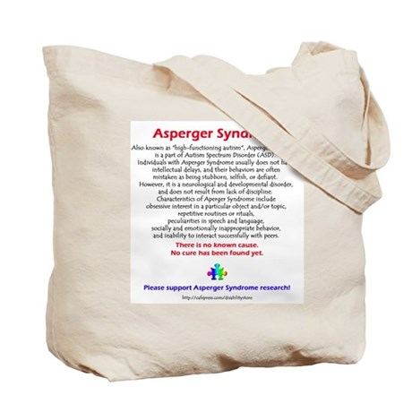 Autism Penguins (Asperger Facts) Tote Bag