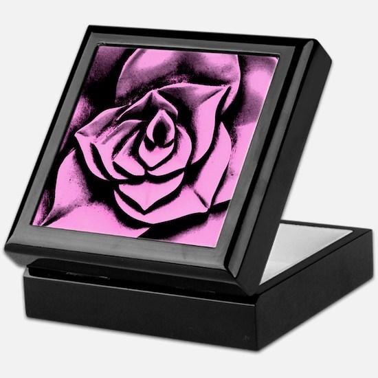 Dark rose Keepsake Box