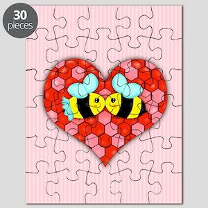 Bee Mine Valentine w/background Puzzle
