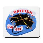USS BATFISH Mousepad