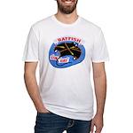 USS BATFISH Fitted T-Shirt
