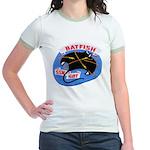 USS BATFISH Jr. Ringer T-Shirt