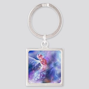 Angel Square Keychain