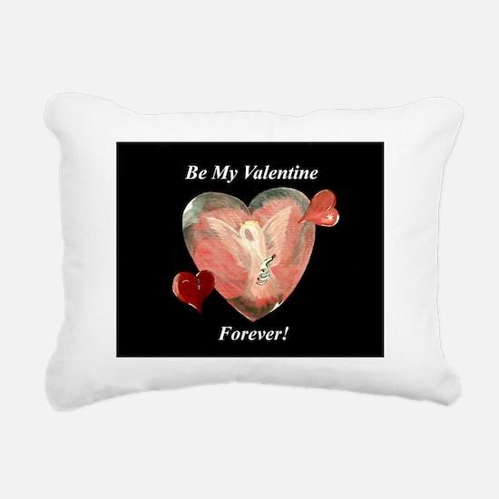 Be My Valentine Rectangular Canvas Pillow
