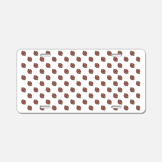 rectangle-platter Aluminum License Plate