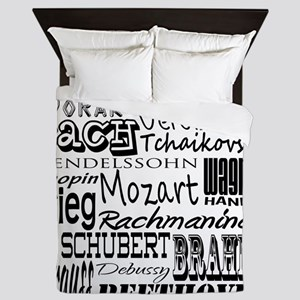 Classical Composers Queen Duvet