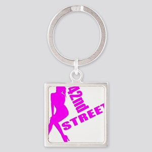 42nd Street Square Keychain