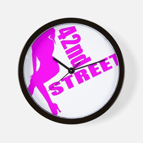 42nd Street Wall Clock