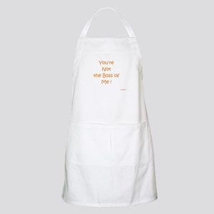 Not My Boss BBQ Apron