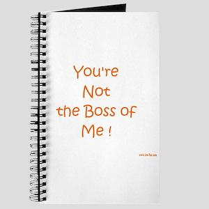 Not My Boss Journal