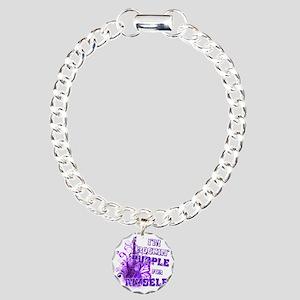 Im Rockin Purple for Mys Charm Bracelet, One Charm