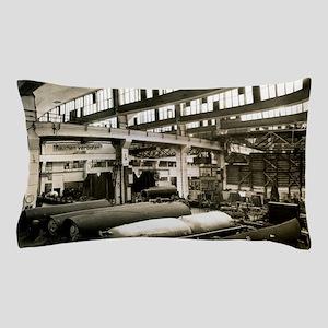 German rocket factory, 1943 Pillow Case