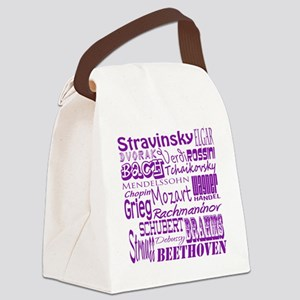 Classical Composers Canvas Lunch Bag
