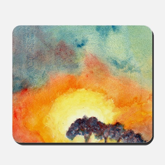 San Antonio Sunset Mousepad