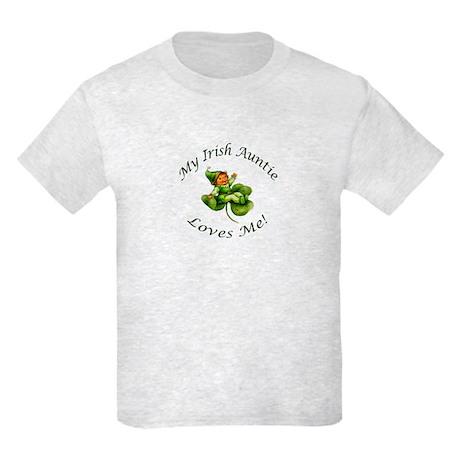 My Irish Auntie Loves Me! Kids Light T-Shirt