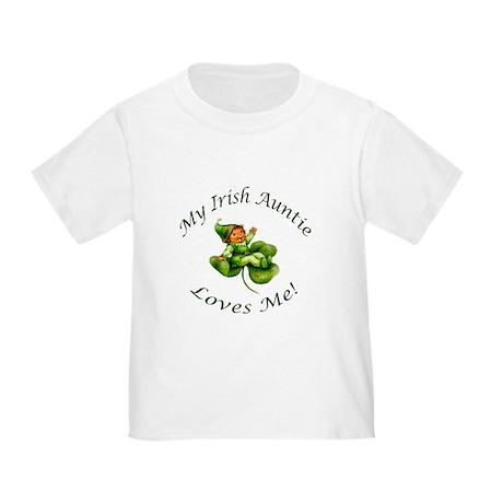 My Irish Auntie Loves Me! Toddler T-Shirt