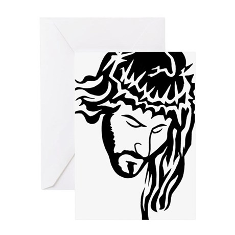 Jesus Greeting Card by Admin_CP9082460