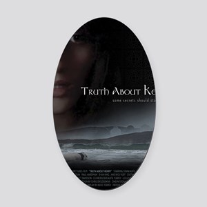 Truth About Kerry - Blanket Oval Car Magnet