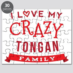 I Love My Crazy Tongan Family Puzzle