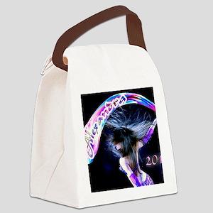 Rainbow Bellydance Canvas Lunch Bag