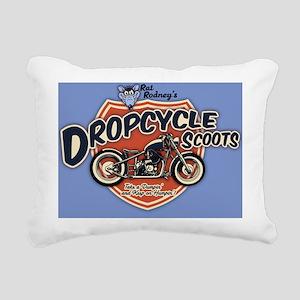 rat-scoot-LG Rectangular Canvas Pillow