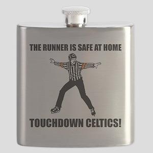 Touchdown Celtics Flask