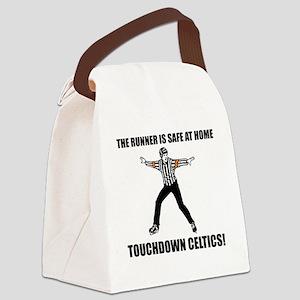 Touchdown Celtics Canvas Lunch Bag