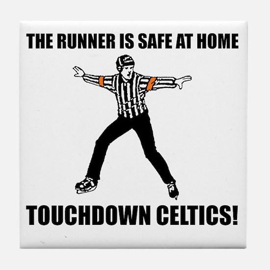 Touchdown Celtics Tile Coaster