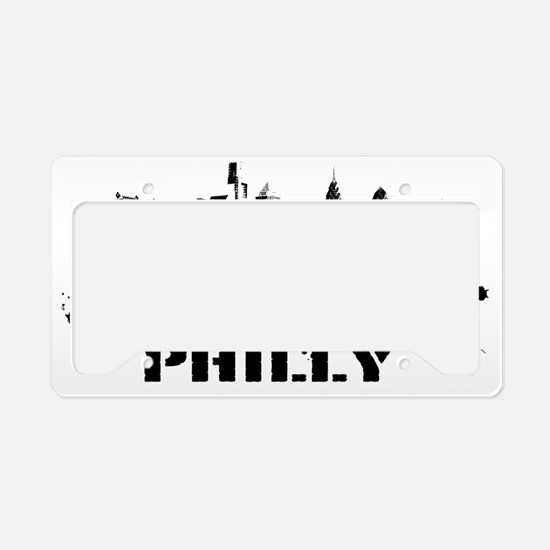 philly License Plate Holder